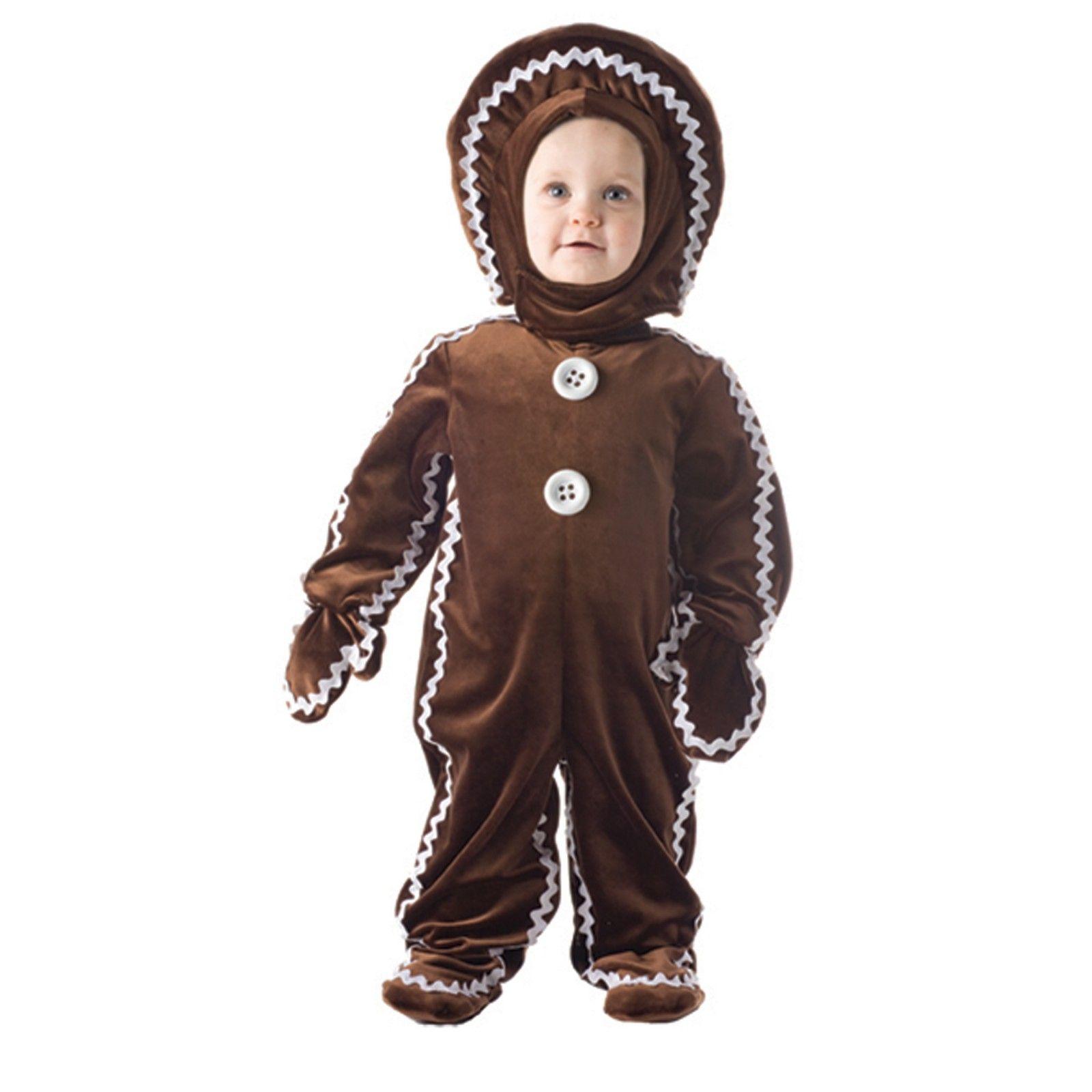 Candyland Child Gingerbread man costumes, Toddler