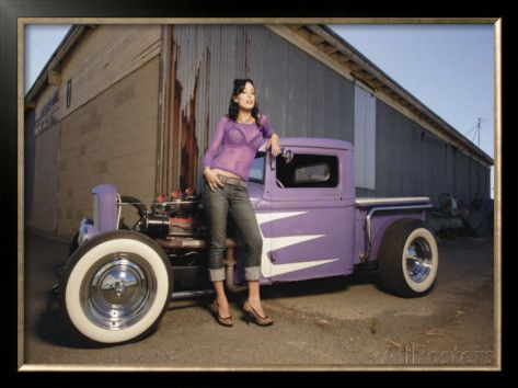 pin up girls with trucks pin up hot rod wallpaper car nurburgring map voiture de course pin. Black Bedroom Furniture Sets. Home Design Ideas