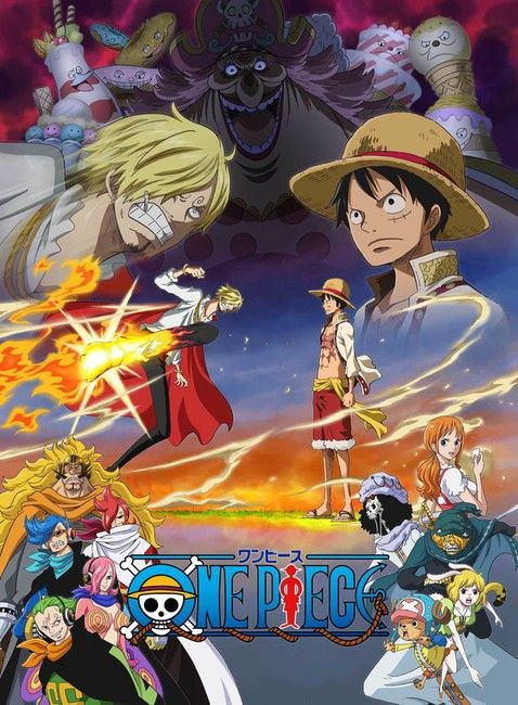 One Piece 896 Vostfr : piece, vostfr, Piece, 'Whole, Island', Arc's, Visual,, Characters, Revealed, Episodes,, Anime,, World