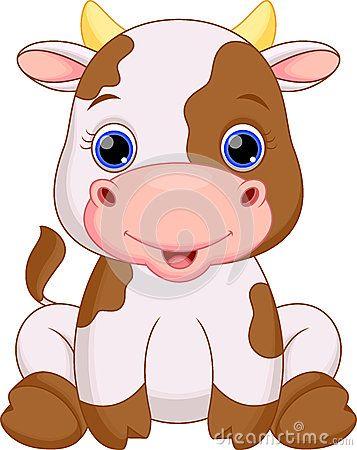 Cute Baby Cow Cartoon Cute Baby Cow Baby Cows Cartoon Clip Art
