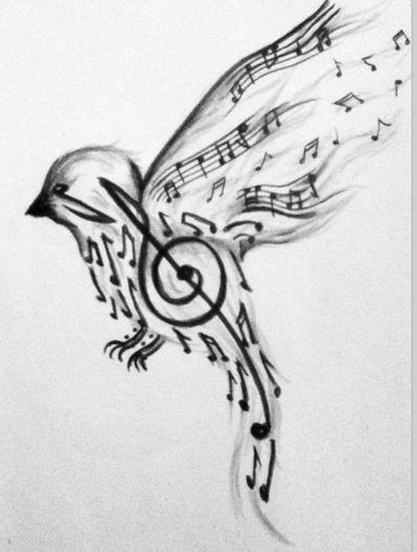 How Free Is Your Spirit Music Bird Tattoos Music Tattoo Designs Tattoos
