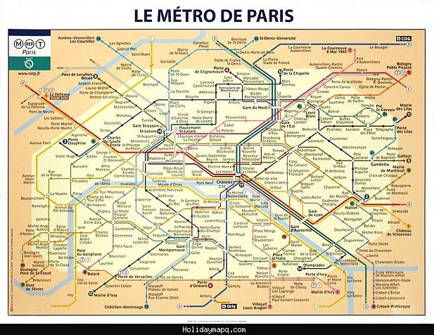 awesome France Subway Map