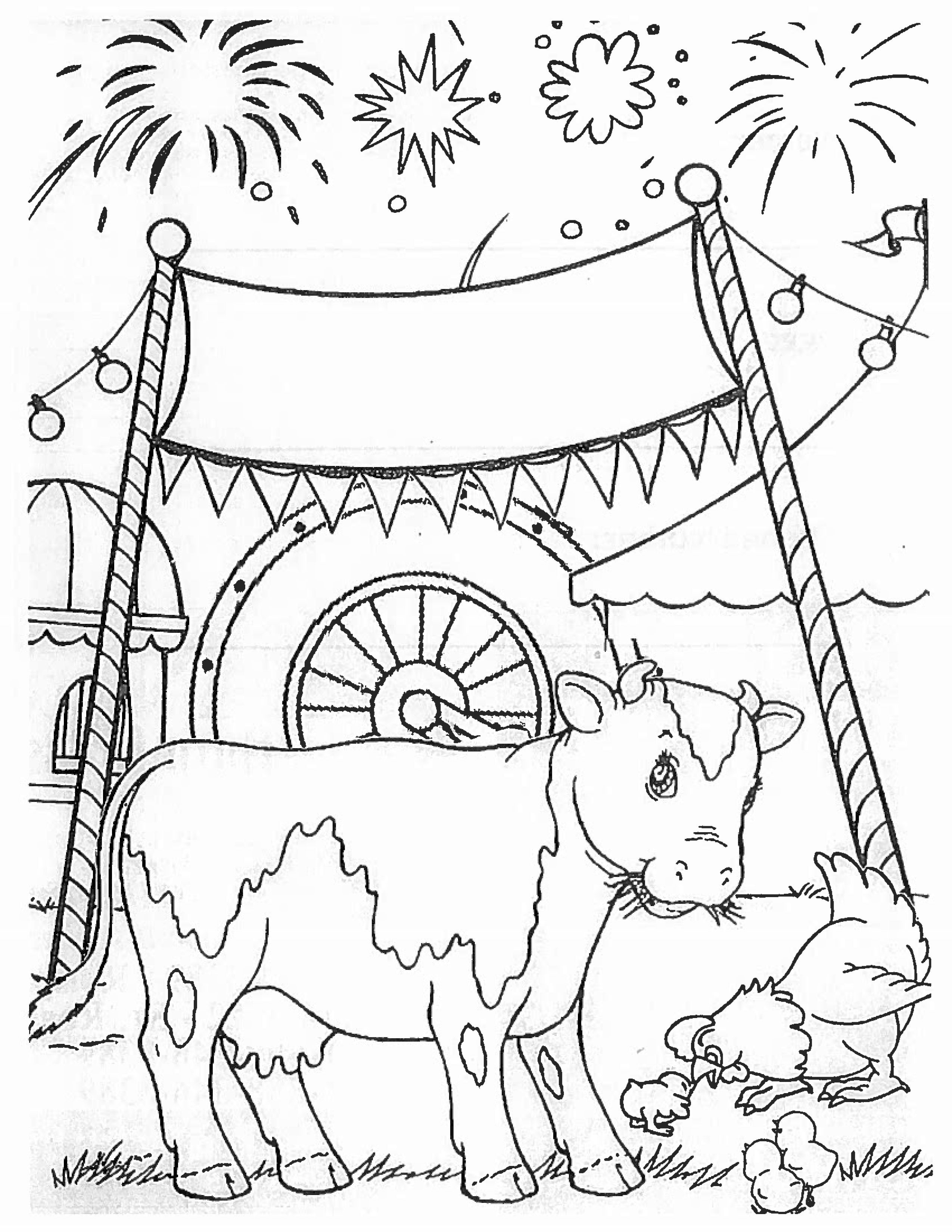 Fair Coloring Page
