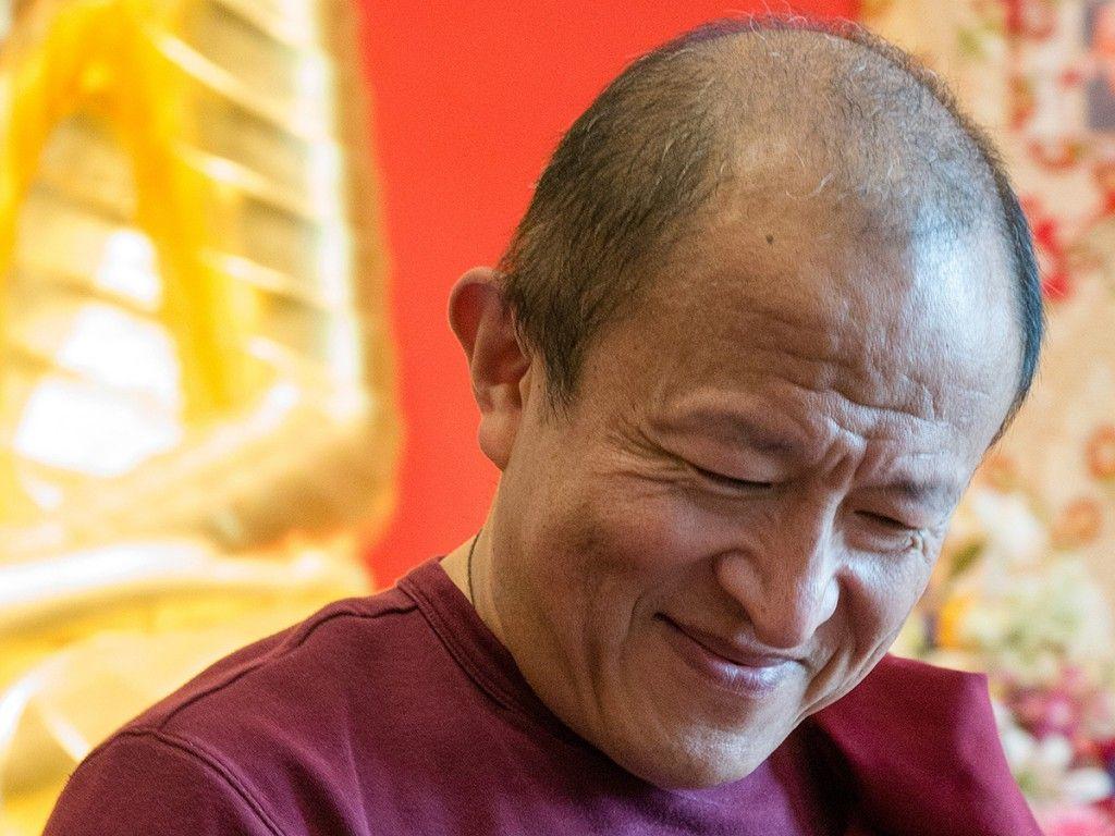 Fotografien von S.H. Dalai Lama, Geshe Thubten Ngawang, Gehe Ugyen Rinpoche, Dzongsar Jamyang Khyentse Rinpoche, Alan Wallace, Geshe Lobsang Palden, Ngawang Sönam & Pema Samten, Matthieu Ricard, Tenzin Palmo und Thich Nhat Hanh