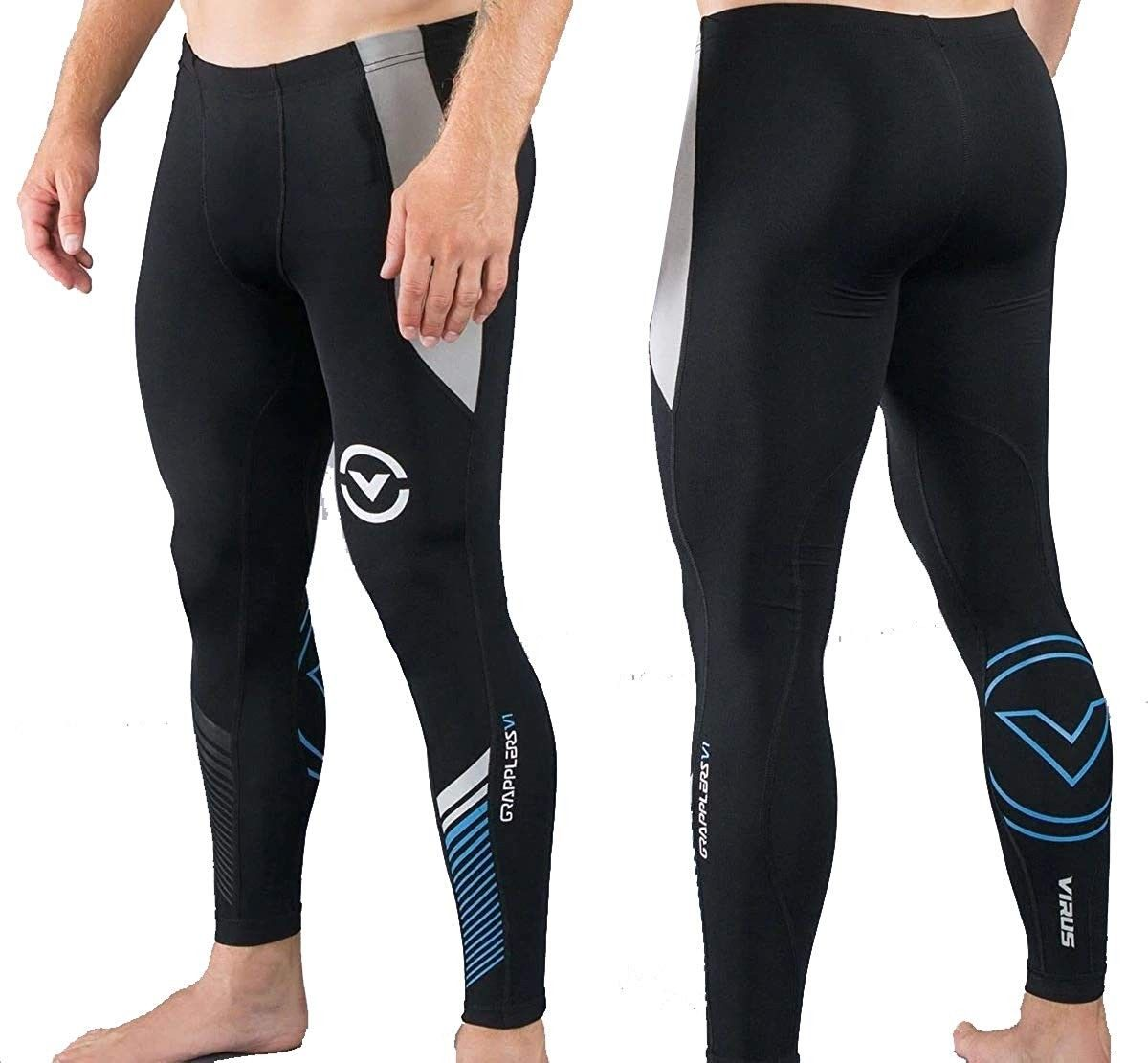 Men's Stay Cool Grappling Compression Spats (CO19) Black