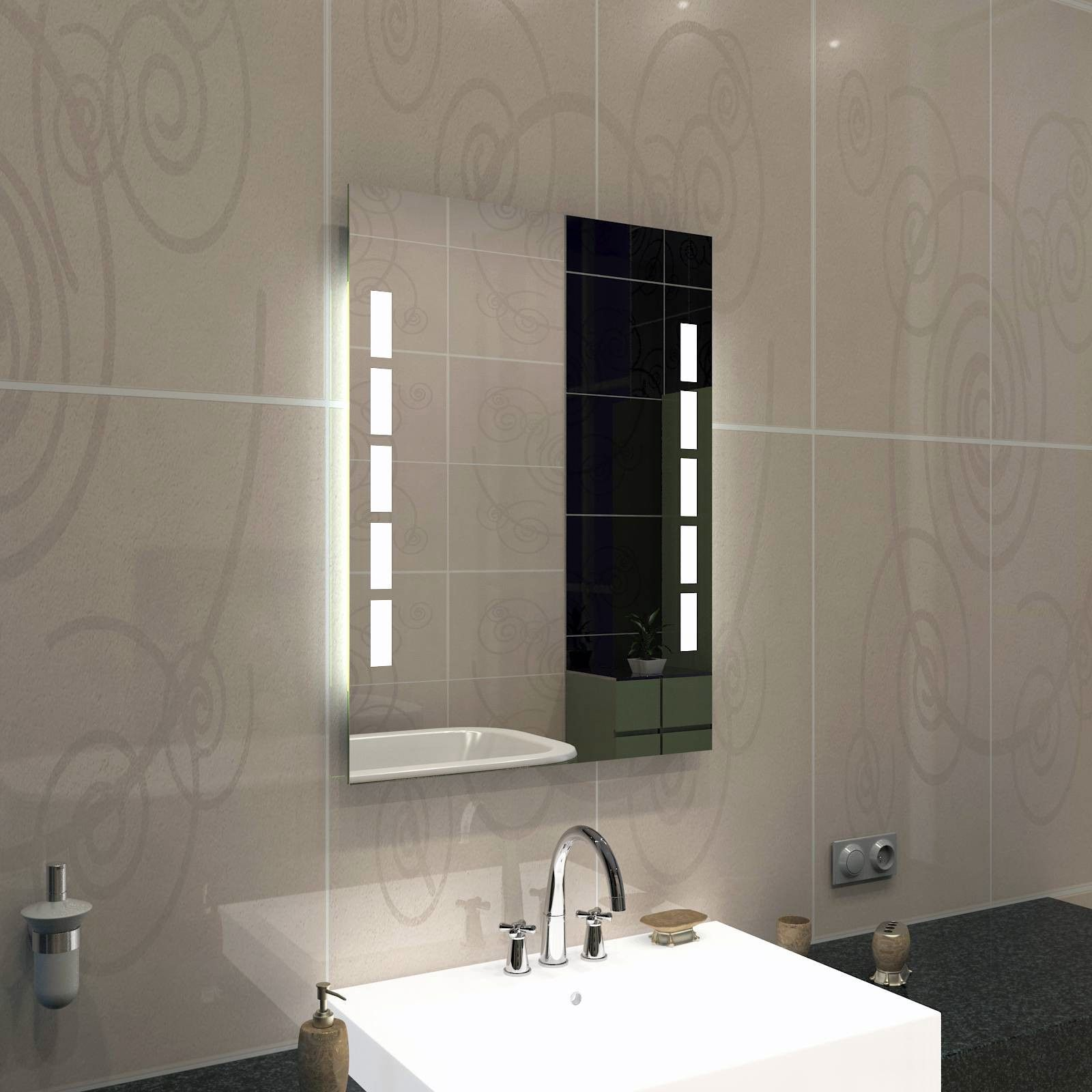 Badezimmer Ablage Holz Bathroom Mirror Lighted Bathroom