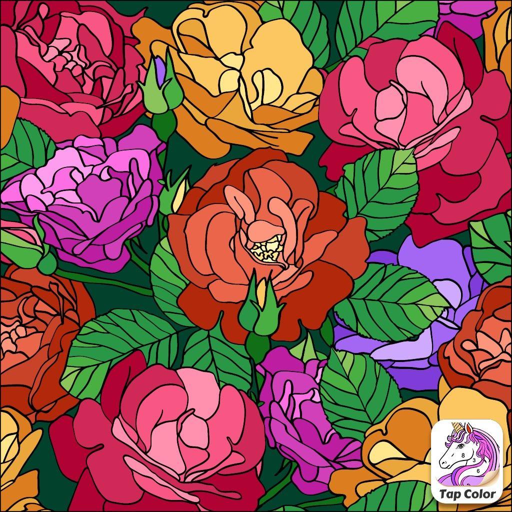 Épinglé par Светлана sur Раскраска по номерам | Coloriage