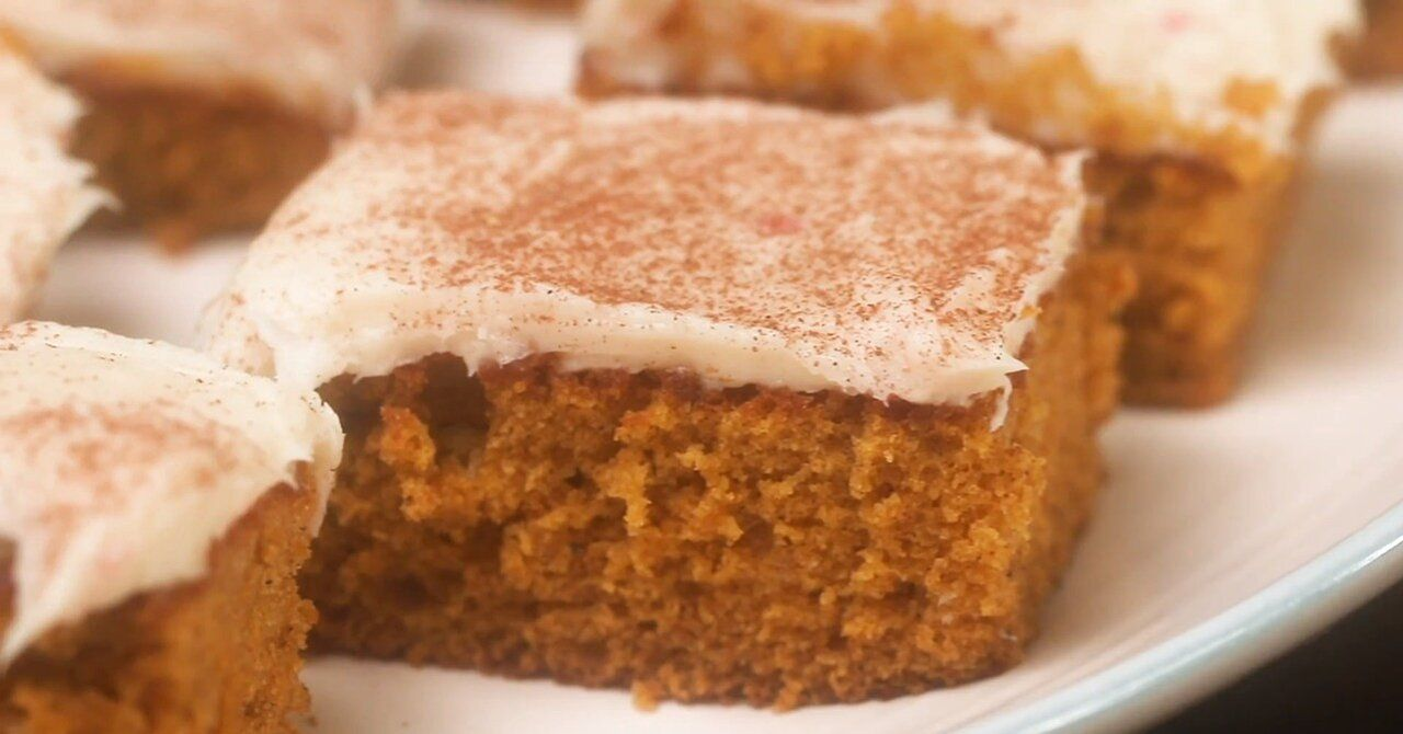 Pumpkin Bars With Cream Cheese Frosting Recipe In 2020 Pumpkin Recipes Pumpkin Bars Cupcake Cakes