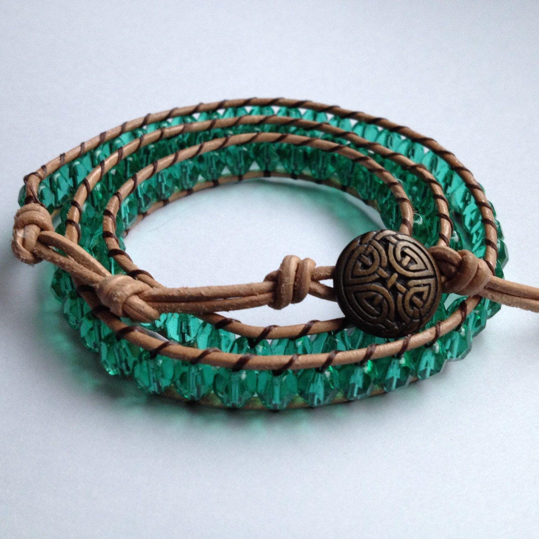 Wintergreen triple wrap bracelet