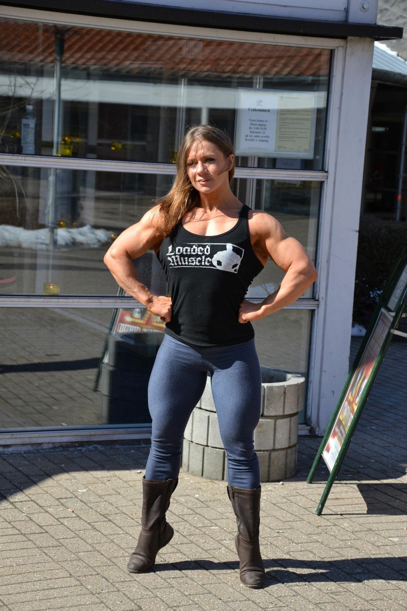 Olga Belyakova  Female Muscle  Muscular Womenmuscle
