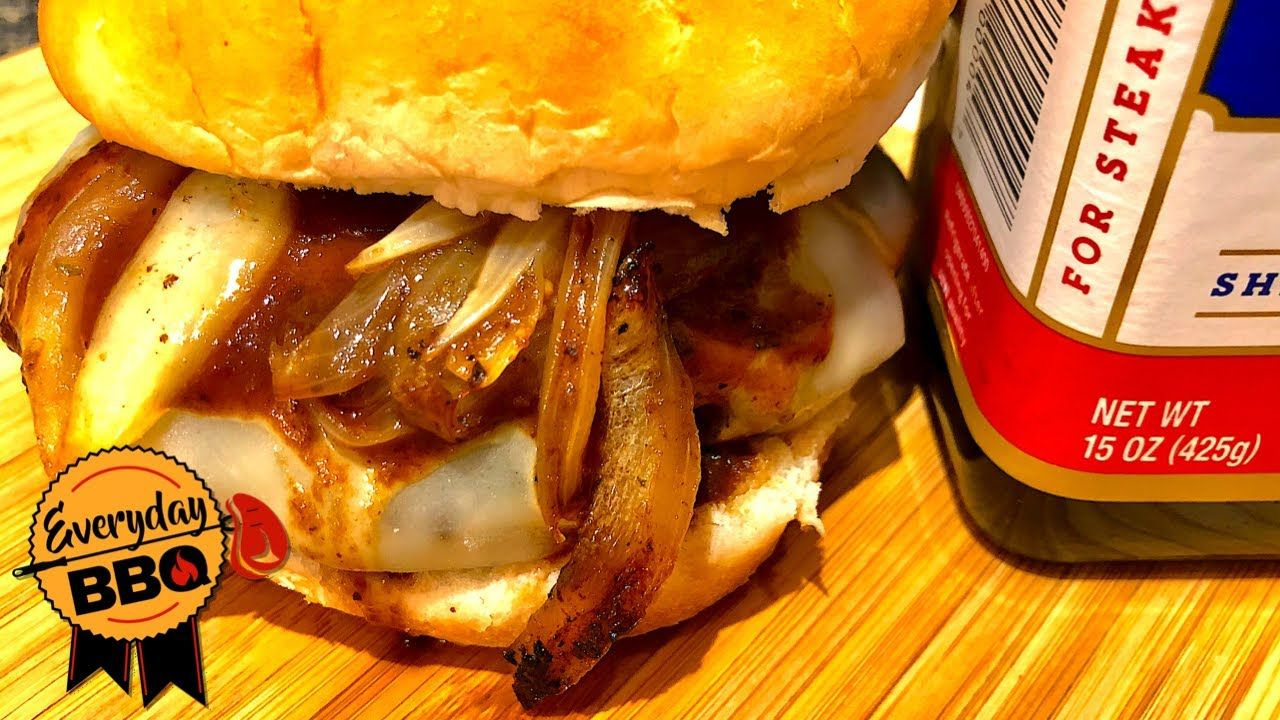 A1 smash burgers with the ballistic bbq smasher on the
