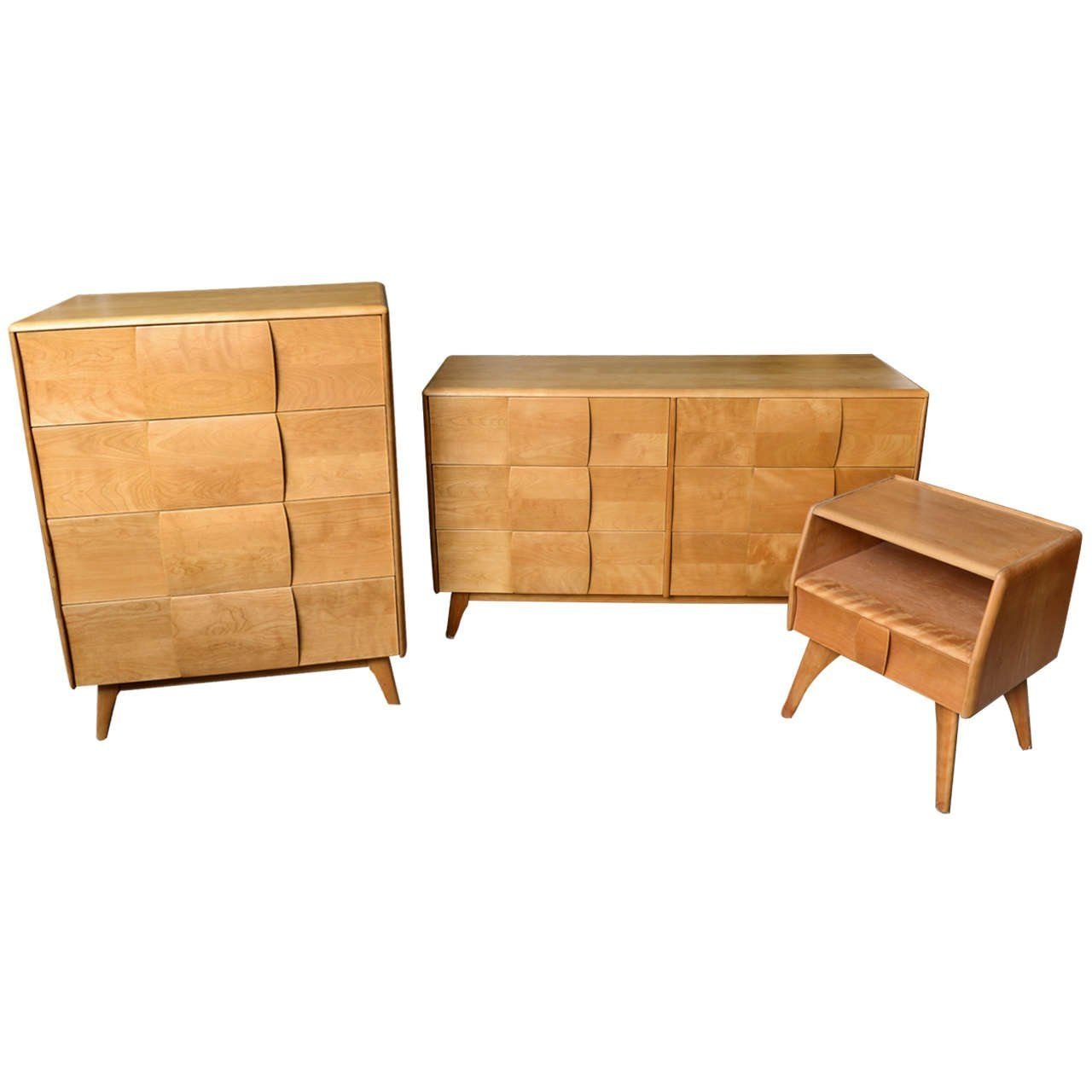 This Heywood Wakefield Bedroom Set Longer Available Piece Lot Home