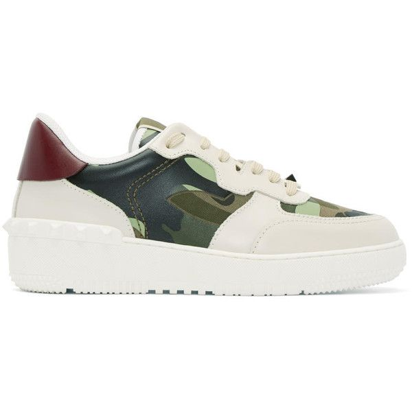 Valentino Off-White Camouflage Rock Be