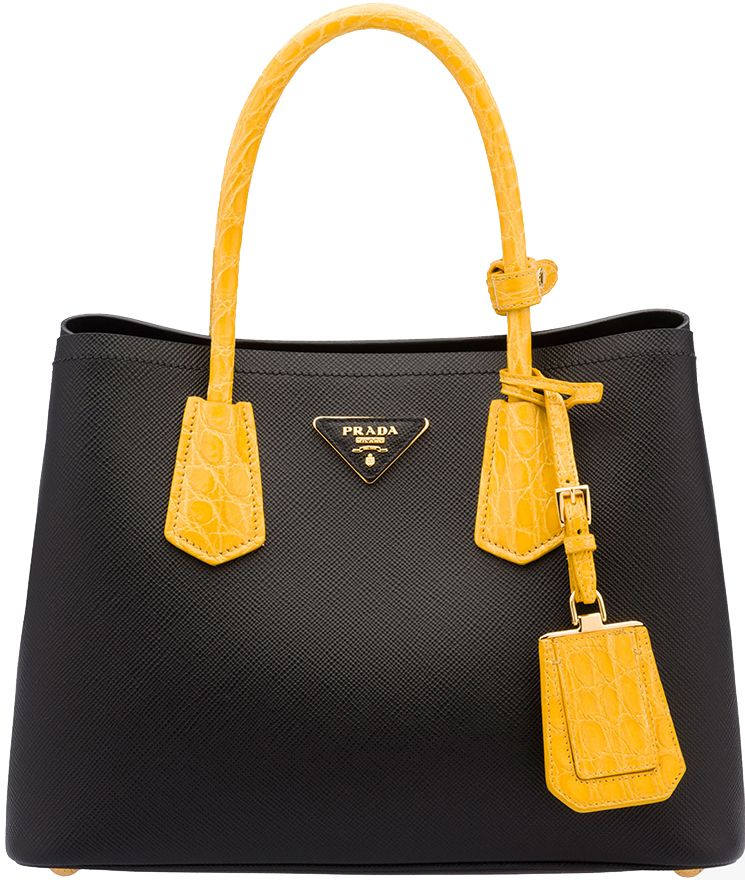 ... czech borse prada primavera estate 2016 prada double bag replica  handbags leather handle 24f5f 14824 ccf29bf529847
