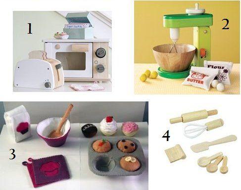 Eco Friendly Play Kitchen Accessories List! Wooden children's ...