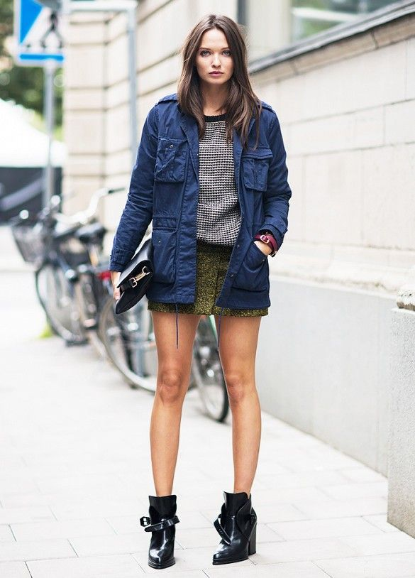 fd51dae7a3 How to Wear Your Ankle Boots This Spring: A Visual Guide via @WhoWhatWear