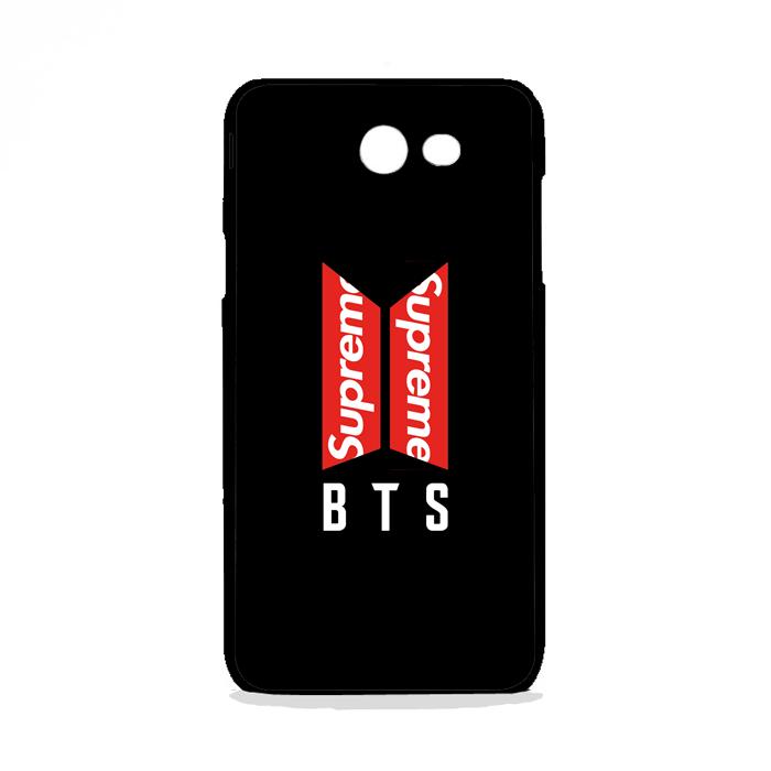 BTS Logo Supreme Samsung Galaxy J7 2015 Case