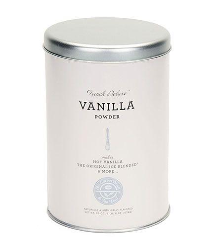 French Deluxe Vanilla Powder 22oz Tin Coffee Powder Vanilla Bean Powder Vanilla Drinks
