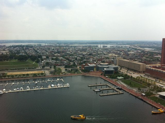 Top of the World - Baltimore by Kitsch Tea Party, via Flickr