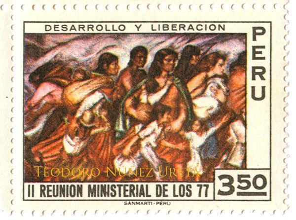 Estampillas - Teodoro Núñez UretaTeodoro Núñez Ureta