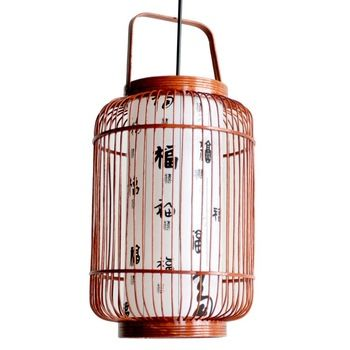 rattan chandelier decorative light modern Chinesestyle lamps and