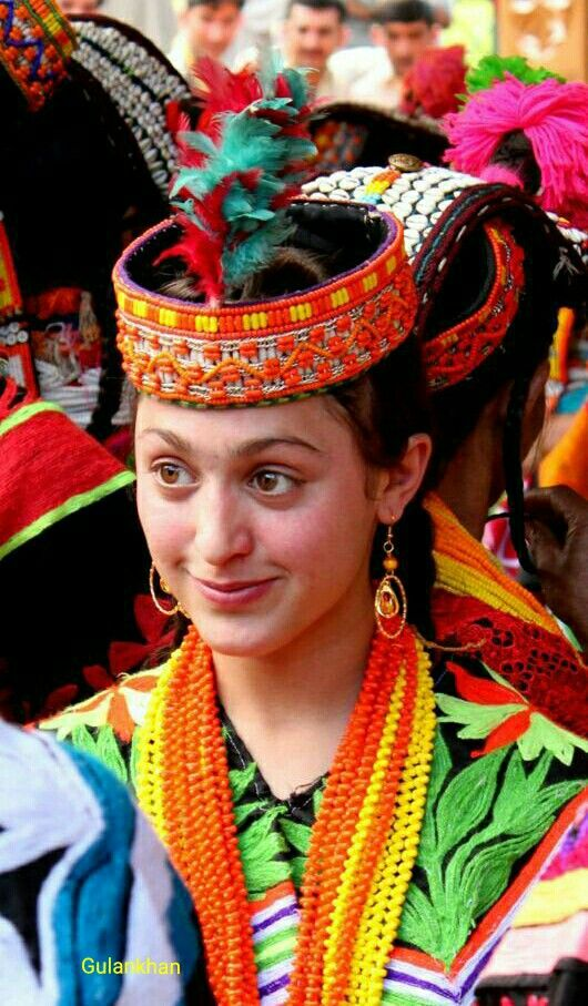 Kalashi girl, Kalash valley Chitral Khyber Pakhtunkhwa ( KpK