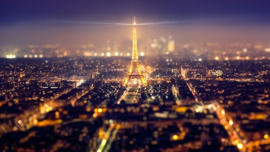 Paris Eiffel Tower Night Hd Wallpaper Download Paris At Night Paris Eiffel Tower