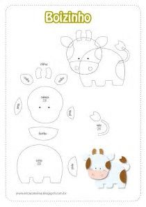 Image result for Free Felt Animal Templates