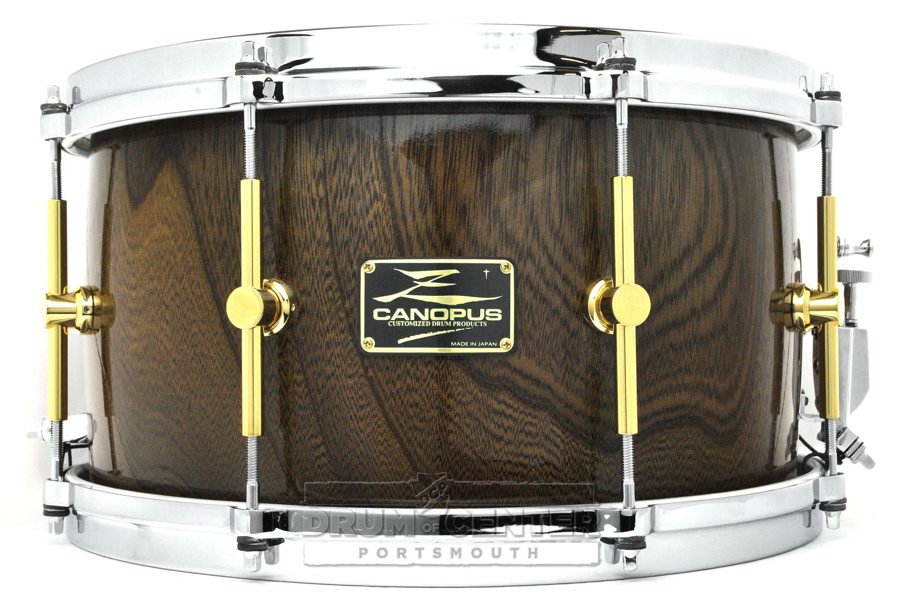 used canopus zelkova snare drum 14x8 the snare wall in 2019 drums snare drum percussion. Black Bedroom Furniture Sets. Home Design Ideas