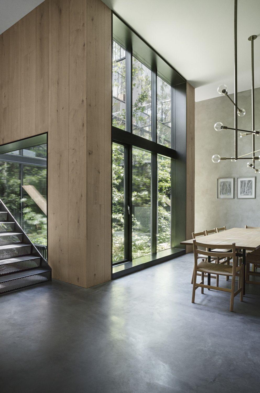wohnen auf dem parkplatz - atriumhaus in kopenhagen   atriumhaus, Innenarchitektur ideen