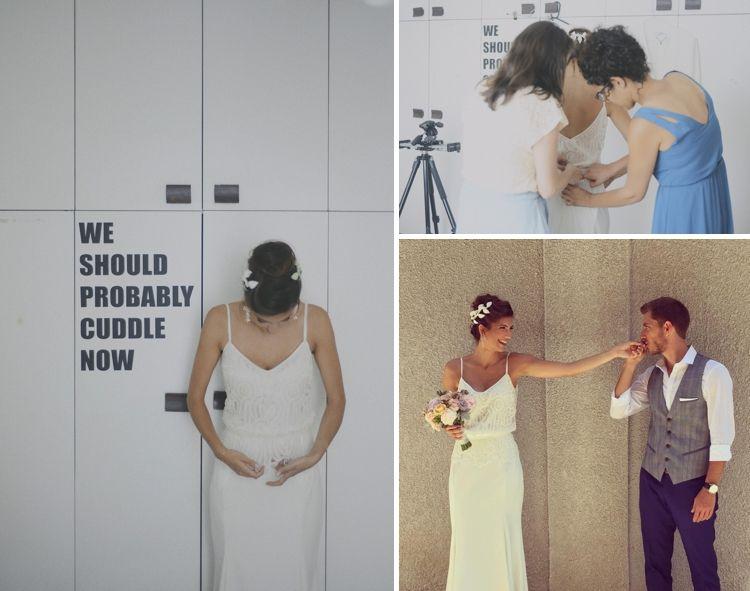 Anya Fleet wedding dress