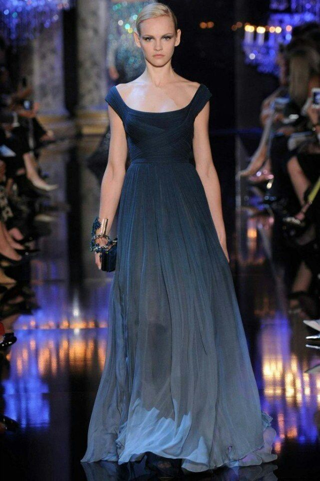 Blue ombre dress   Outfits   Pinterest   Blue ombre