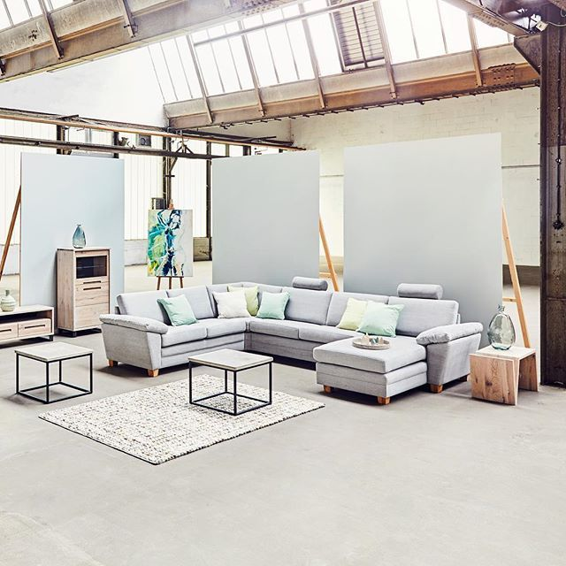 Wohnzimmer #Ideen #Sofa #Interior #Industrial #Skandinavisch