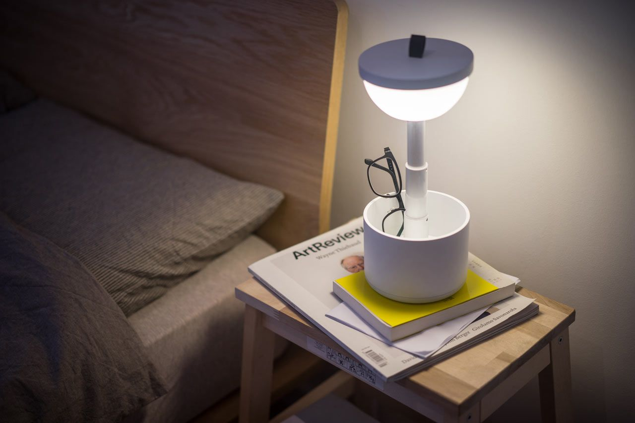 Bento a portable interactive lamp from yuue design home