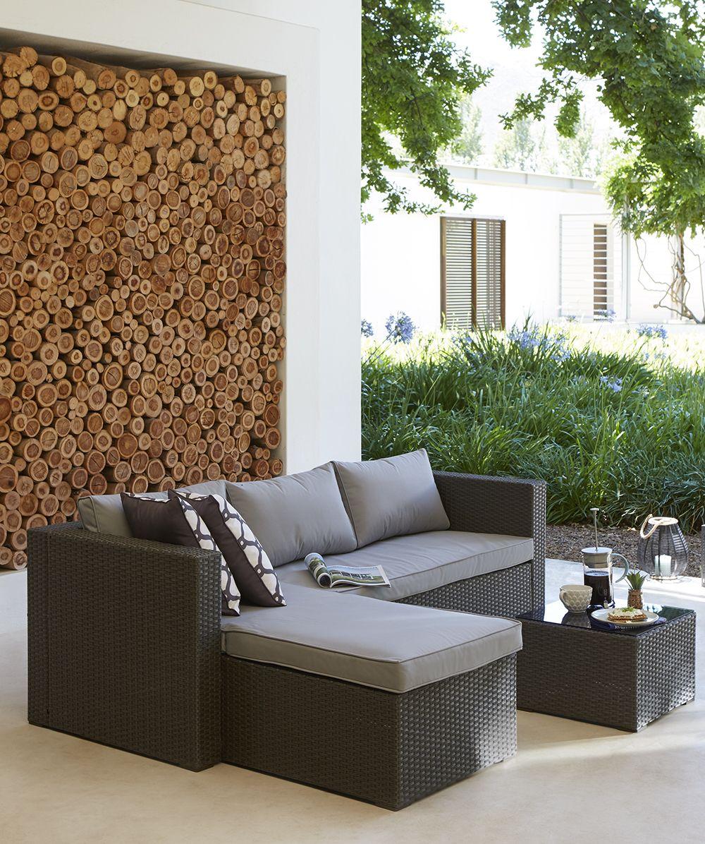 Rattan Coffee Table The Range: Kick Back And Relax On The Alexandria Rattan Corner Sofa