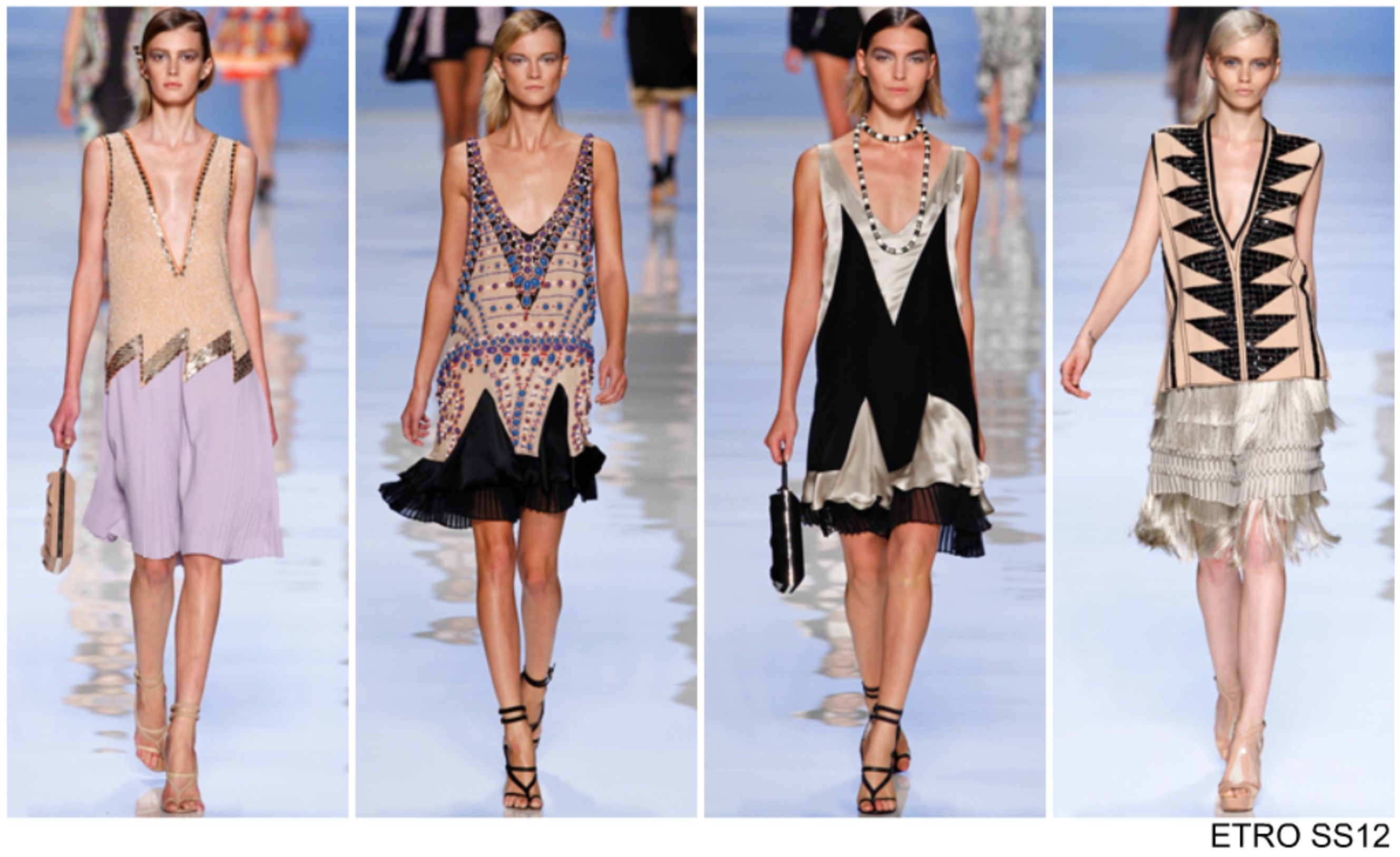 CATWALK] From the Spring Summer 2012 catwalks: The Great Gatsby | UK ...