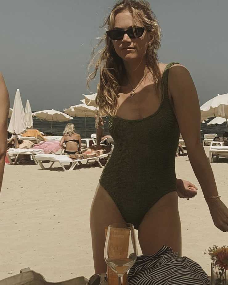 Bikini emily wickersham 'NCIS' star