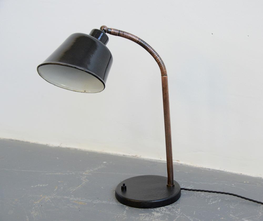 Desk Lamp By Bunte Remmler Bur Circa 1930s The Hoarde Desk Lamp Lamp Bulb