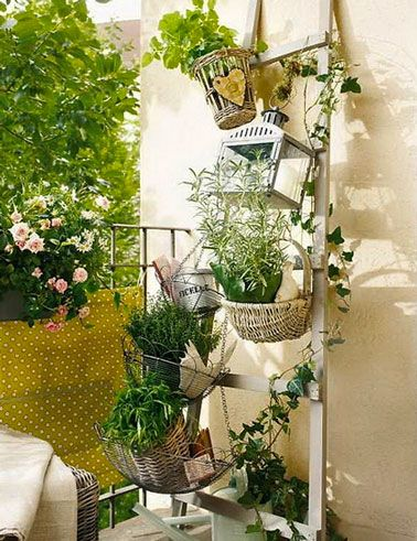 15 id es pour am nager un petit balcon avec jardin interior plants plants and balconies. Black Bedroom Furniture Sets. Home Design Ideas