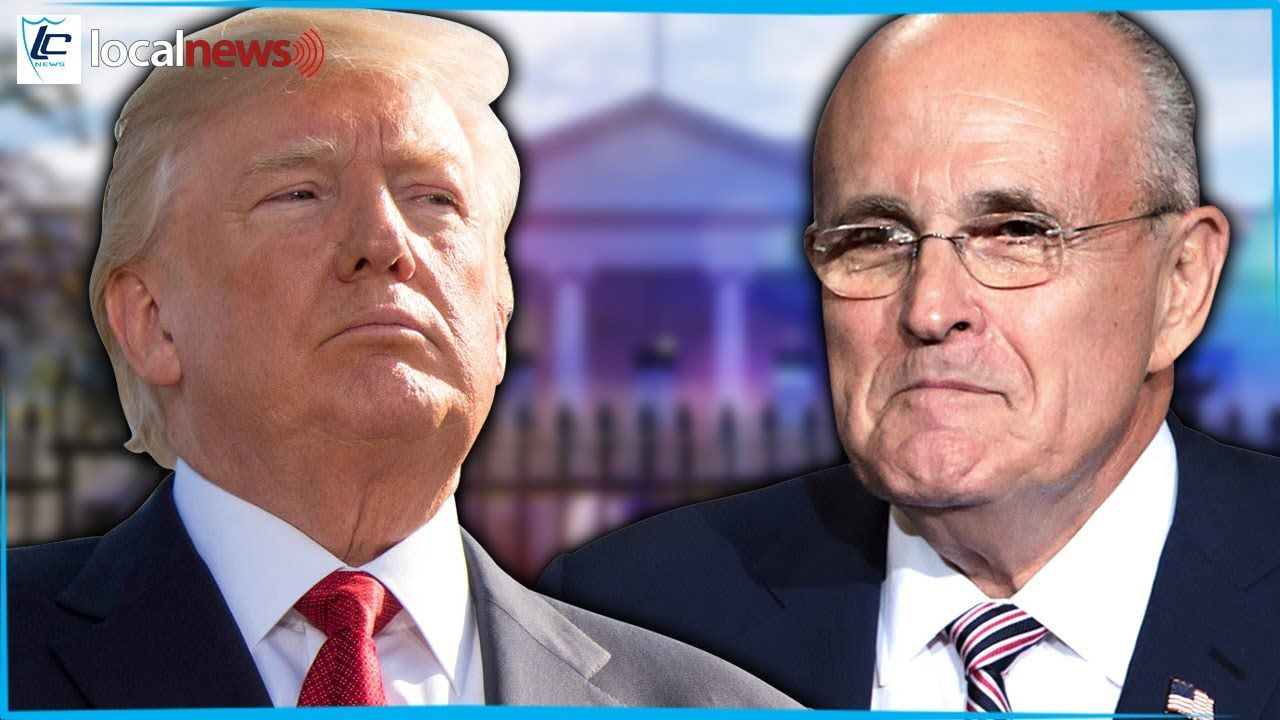 Trump Just Decided To Follow Rudy Giuliani All The Way Off The Cliff Rudy Giuliani Youtube All The Way