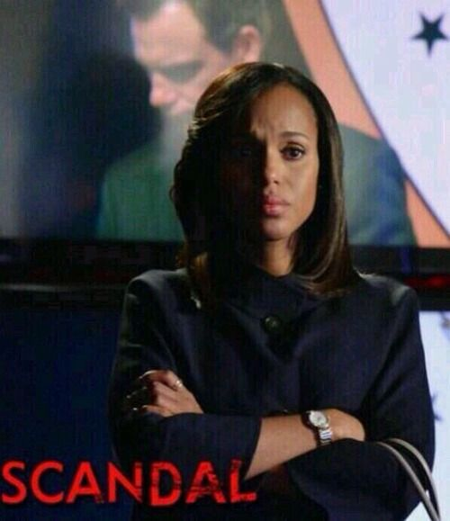 #Scandal Olivia Pope's pout is everything!!!