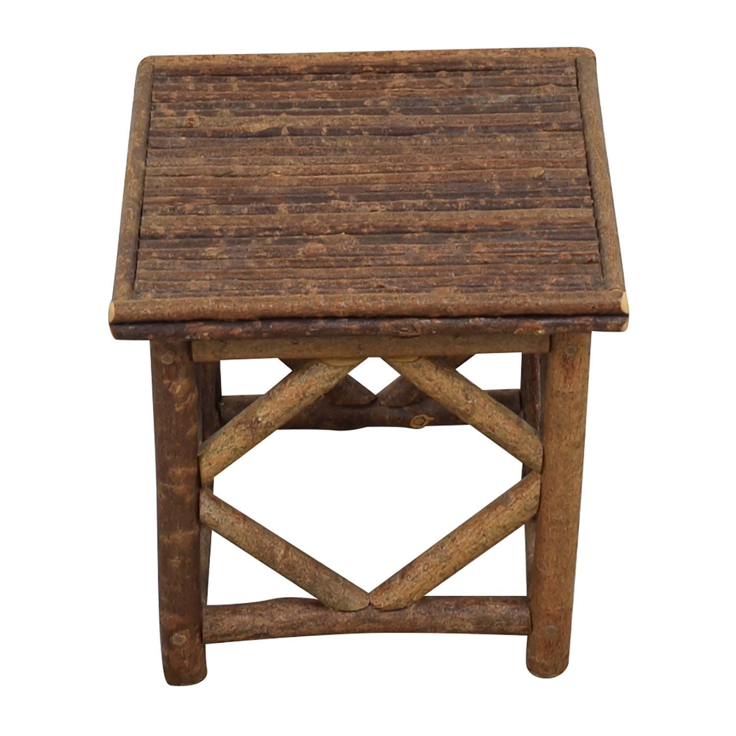 La Lune Collection Rustic End Table Rustic End Tables End