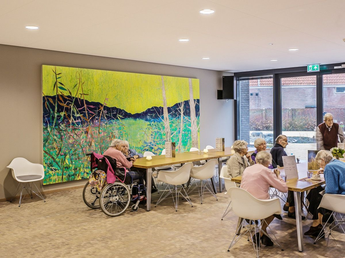 Willibrord nursing home is located in the heart of