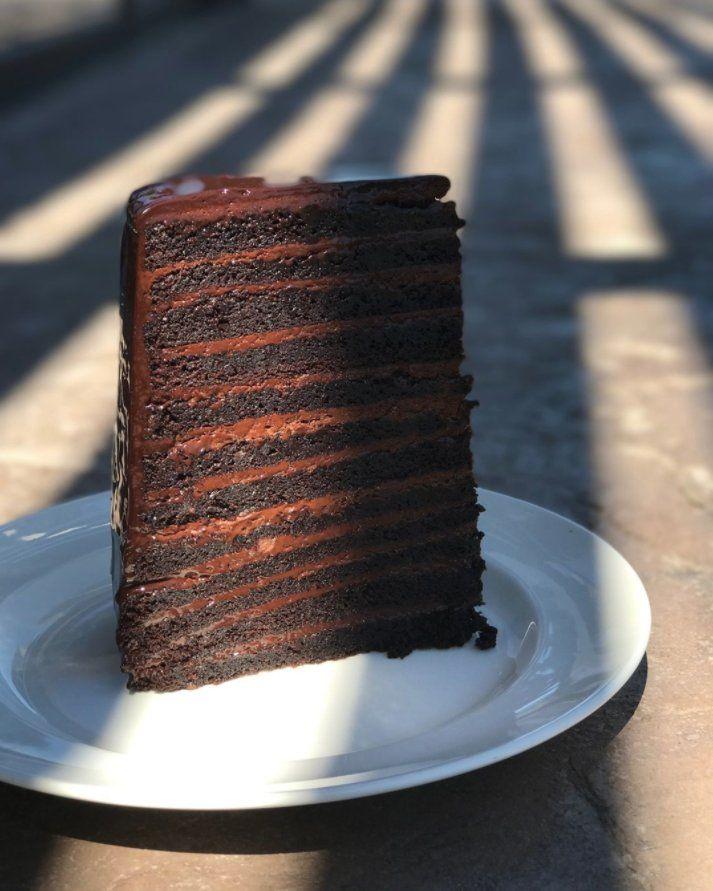 suerte Ventilación coser  Levy on Twitter | Cake, Chocolate layer cake, Chocolate cake