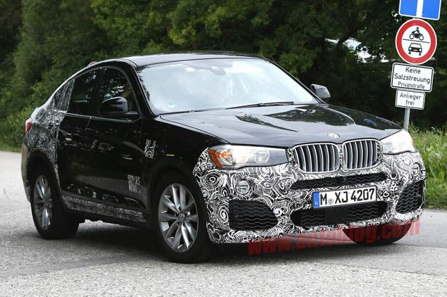 BMW X4 M40i spotted testing in Germany