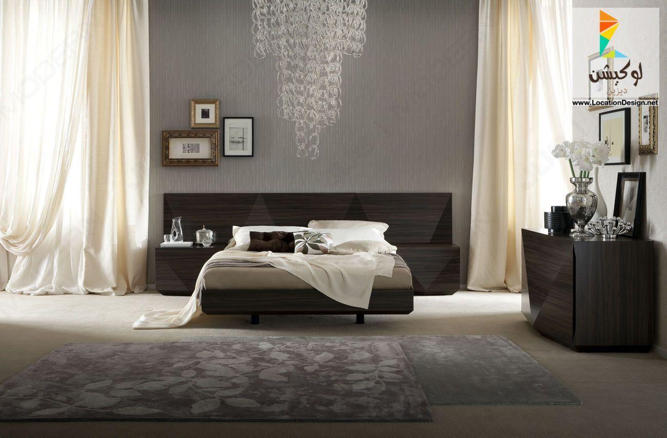 احدث غرف نوم ايطالية بلمسات أشهر المصممين الإيطاليين - Italian bedroom furniture 2018