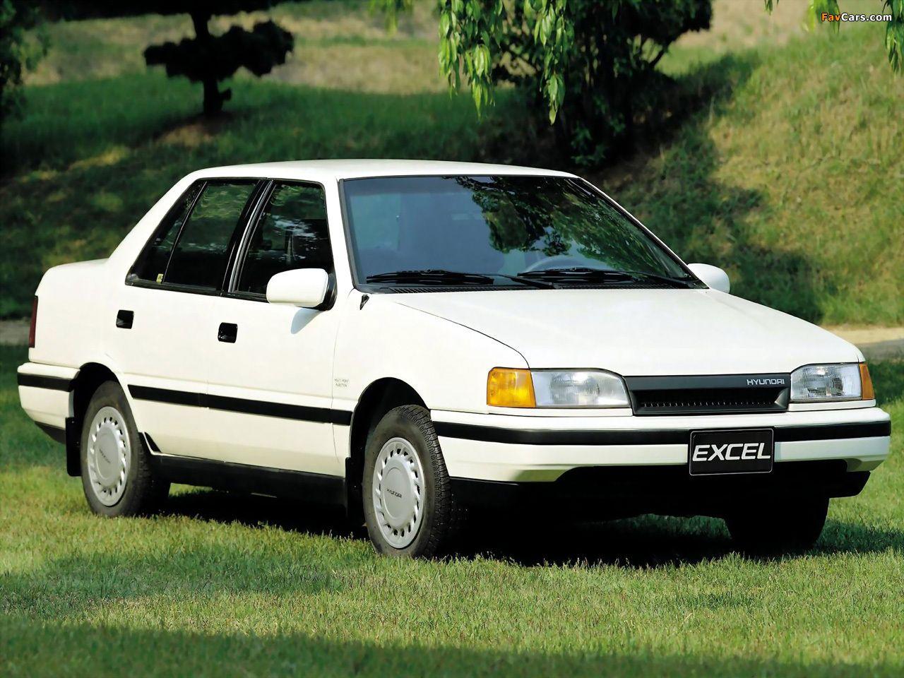 1989 Hyundai Excel Carros