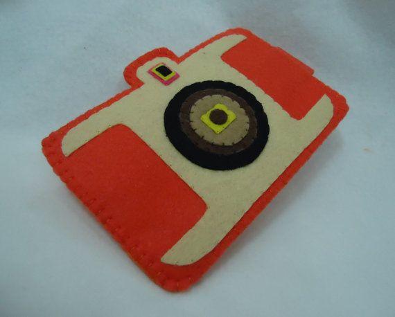 My CAMERA Design iPhone Case Cell Phone Case by kawaiifeltcrafts, $10.50