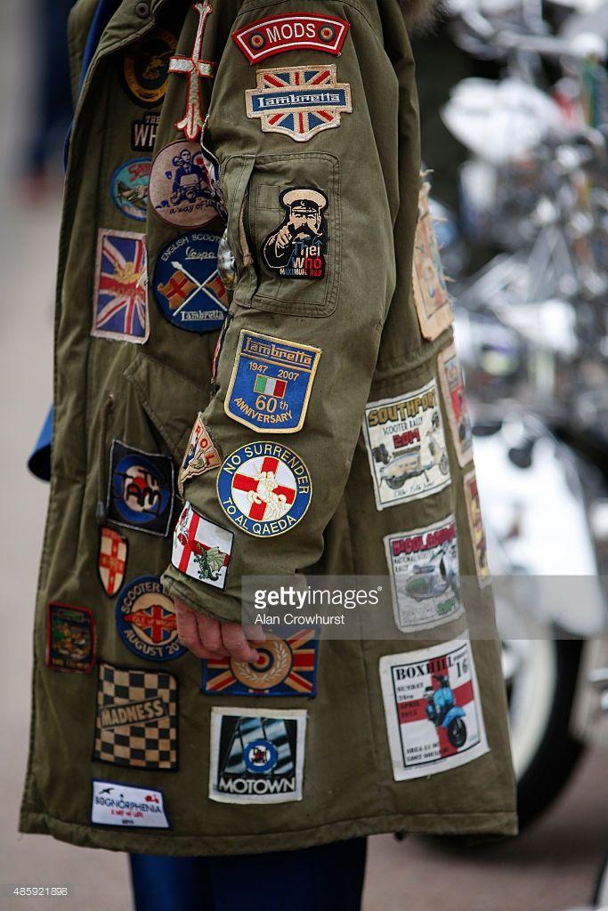 Mod Parka Badges
