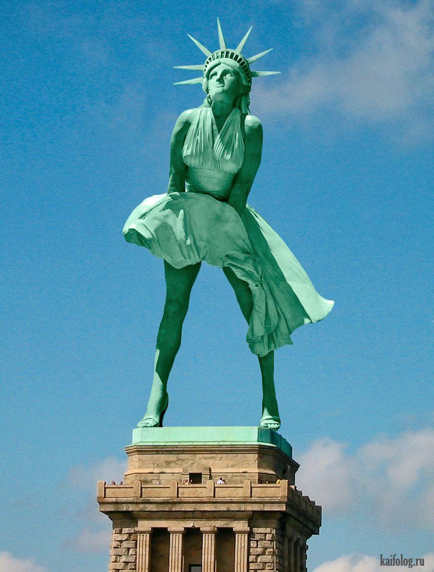 Статуя Свободы в Нью-Йорке. История и факты